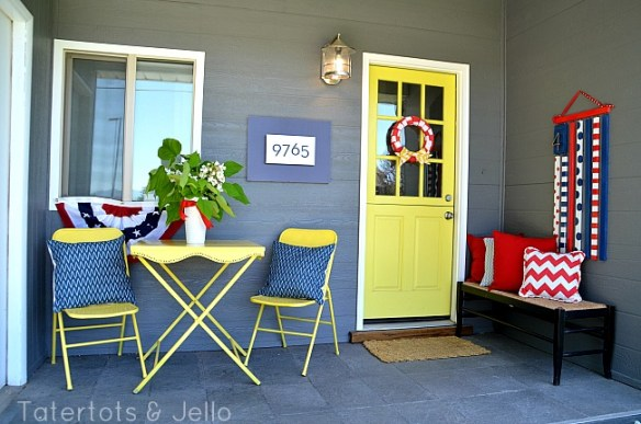 1905Cottage Fourth of July Porch