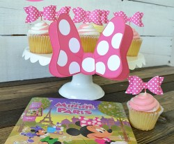 minnie mouse paper bow printables at tatertots and jello