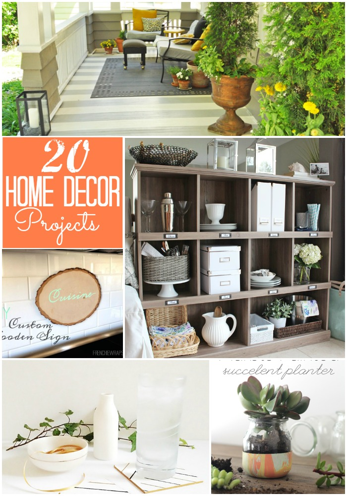 20 home decor projects at tatertots and jello