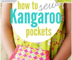 How To Sew Kangaroo Pockets