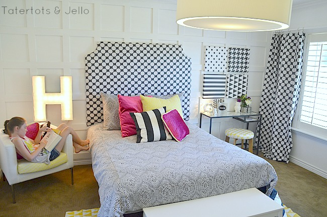 tween bedroom reveal ideas at tatertots and jello