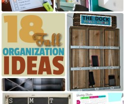 Great Ideas — 18 Fall Organization Ideas!