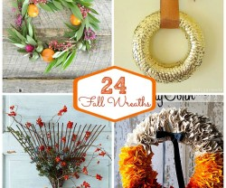24 DIY Fall Wreaths