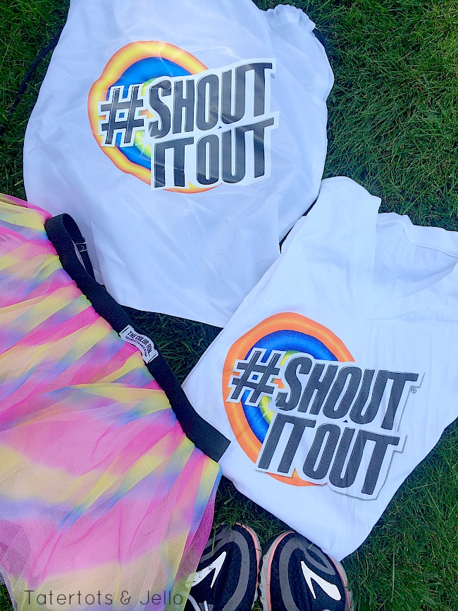 shout shirt all clean
