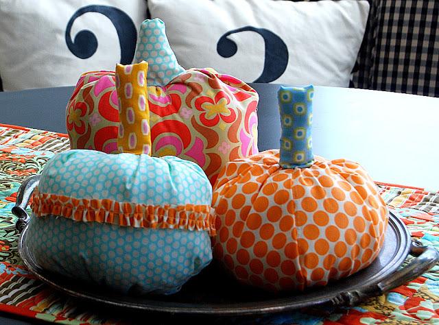 ruffled pumpkins