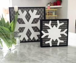 snowflake decor