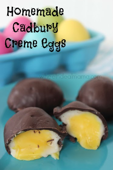 Homemade Cadbury Creme Eggs @ Wheel n Deal Mama