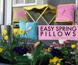 Easy Spring Bunny Pillows