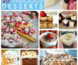 Great Ideas — 20 Delicious Desserts!