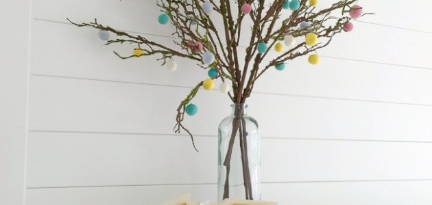easy.felt.ball.tree.blossoms
