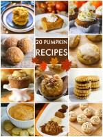 Great Ideas — 20 Pumpkin Recipes!