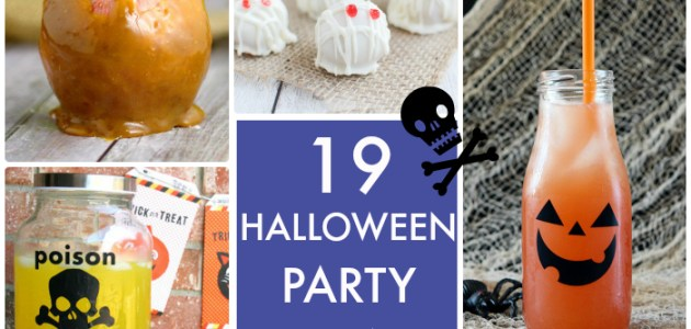 19 Halloween Party Ideas
