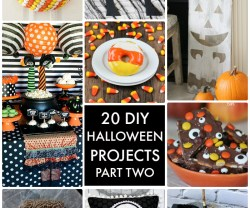 Great Ideas — 20 DIY Halloween Projects Part 2!