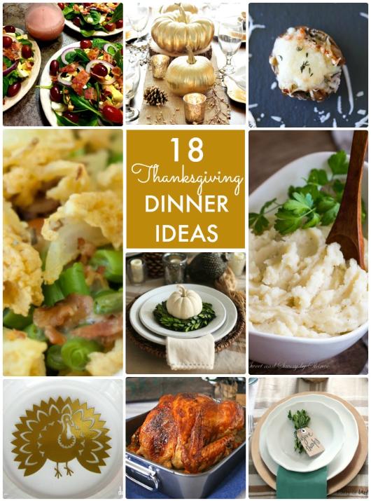 Great Ideas 18 Thanksgiving Dinner Ideas Tatertots