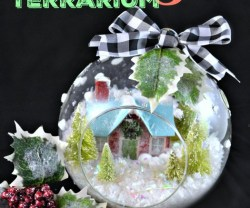 Happy Holidays: DIY Holiday Terrarium