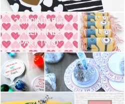 Great Ideas — 20 Printable Valentines Part Two!