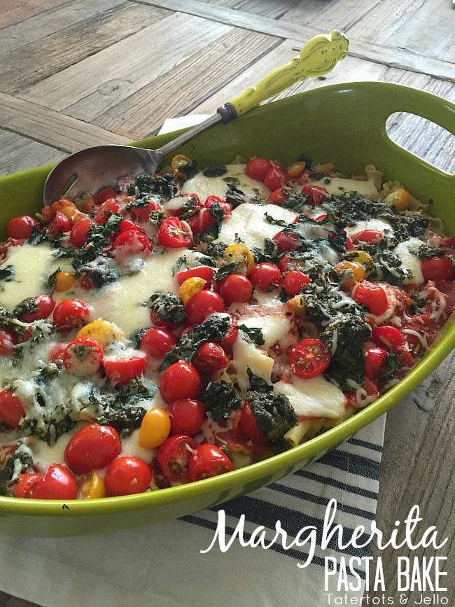 Margherita Pasta Bake