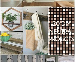 Great Ideas — Neutral DIY Projects!