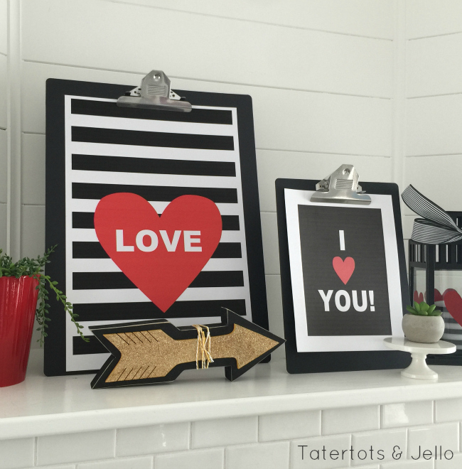 love and i love you printables