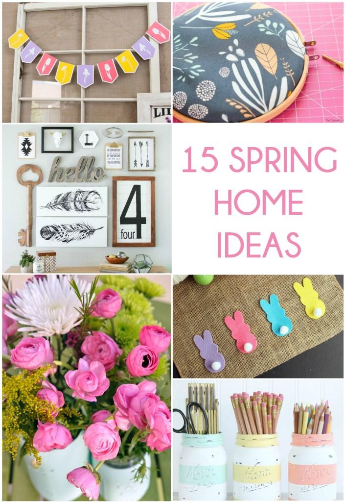 15 Spring Home Ideas