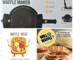 Link Party Palooza — and Will It Waffle Giveaway!