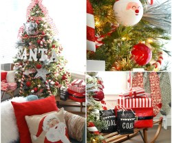 Santa North Pole Christmas Tree and Decorating Ideas!