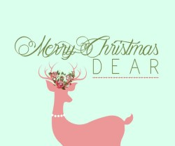 Merry Christmas Dear Free Holiday Printable!
