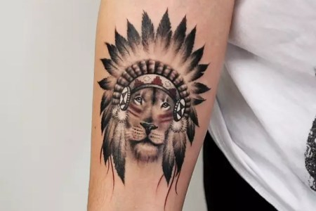 lion tattoo 34