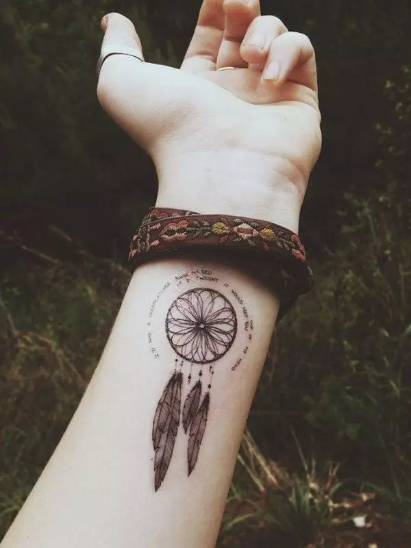 60 Mysterious Dreamcatcher Tattoo designs and meaning – Dive deeper of 25