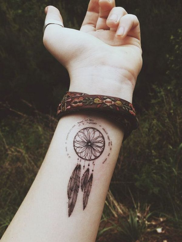 60 Mysterious Dreamcatcher Tattoo designs and meaning – Dive deeper of 25 by Robert