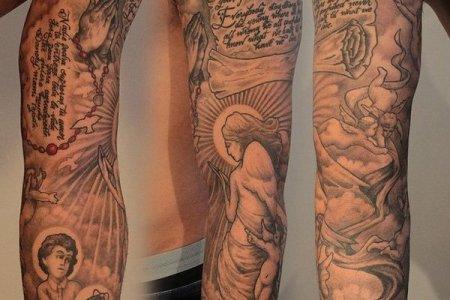 full sleeve tattoo 16