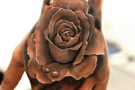 hand tattoo 29