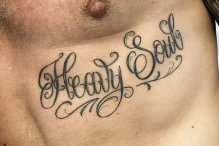 lettering tattoos 90
