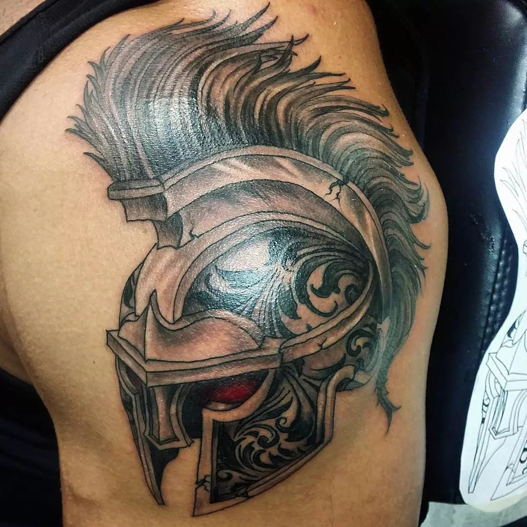 70 Legendary Spartan Tattoo Ideas – Discover The Meaning Behind These Power Images of 47 by Alyssa