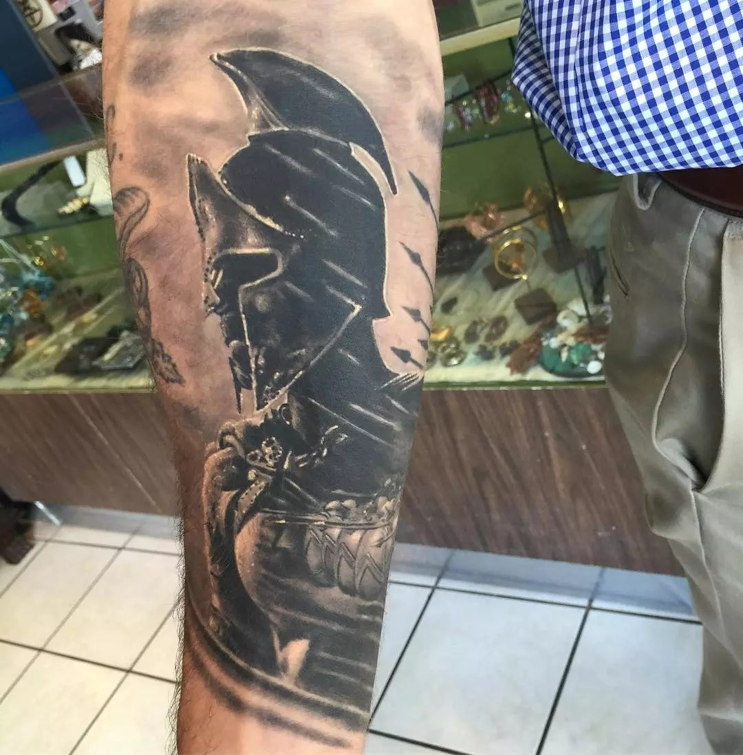 70 Legendary Spartan Tattoo Ideas – Discover The Meaning Behind These Power Images of 13