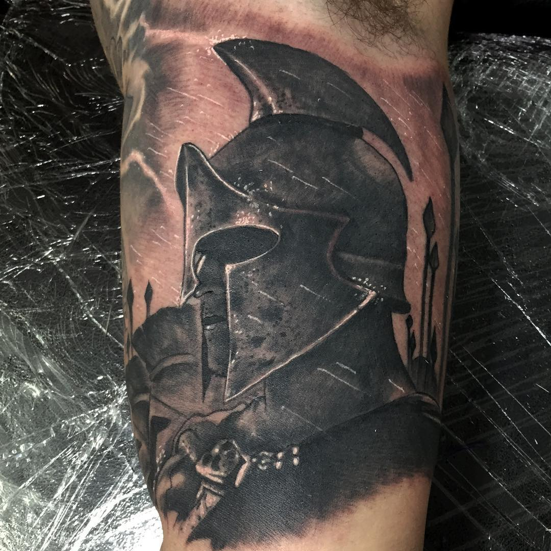 70 Legendary Spartan Tattoo Ideas – Discover The Meaning Behind These Power Images of 39 by Alyssa