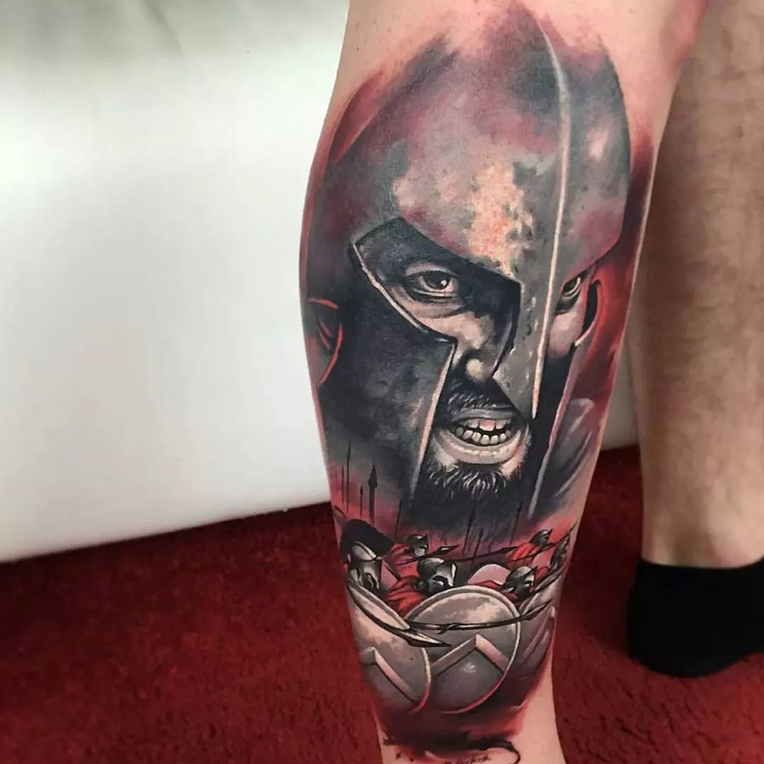 70 Legendary Spartan Tattoo Ideas – Discover The Meaning Behind These Power Images of 33 by Alyssa