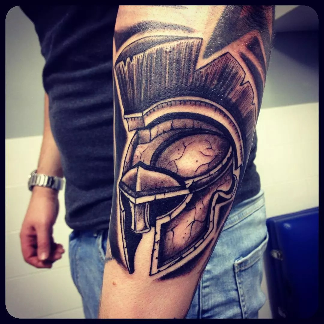 70 Legendary Spartan Tattoo Ideas – Discover The Meaning Behind These Power Images of 28 by Alyssa