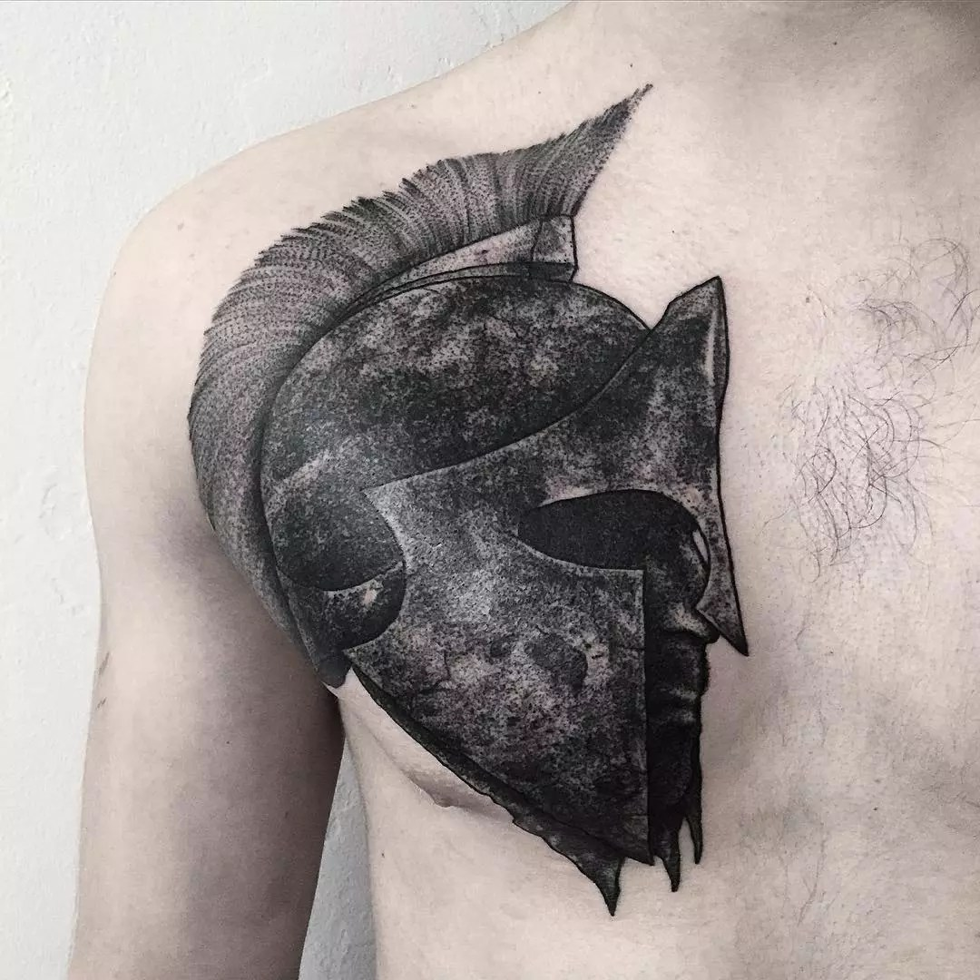 70 Legendary Spartan Tattoo Ideas – Discover The Meaning Behind These Power Images of 66 by Alyssa