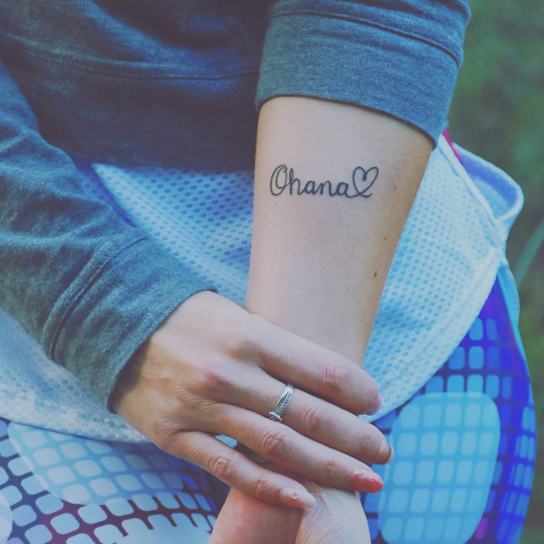 35 Delightful Ohana Tattoo Designs – No One Gets Left Behind of 27 by Jeffery