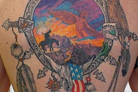 native american tattoo