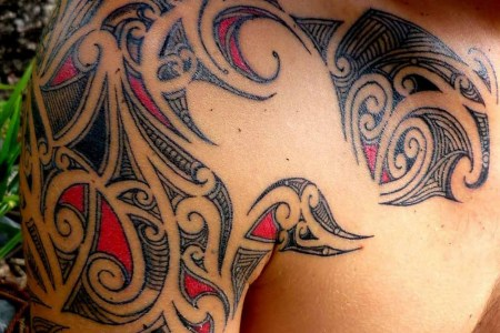 tribal shoulder tattoo designs1