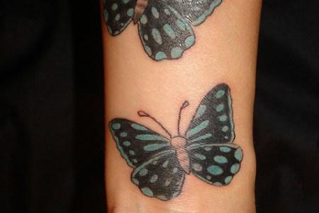 erfly wrist tattoos meanings1