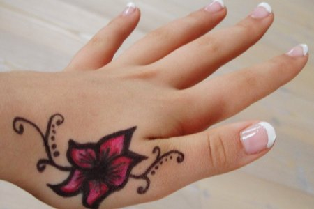 tattoo on hand 11