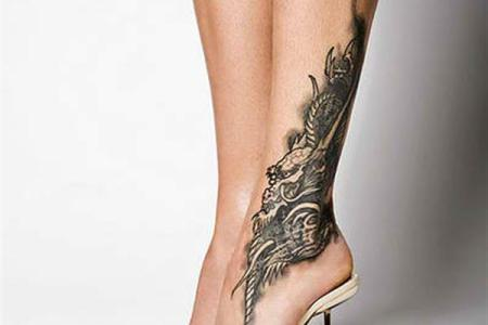 foot tattoo ideas 7