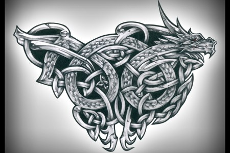 celtic dragon tattoos 3