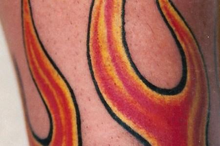 fire tribal tattoo8