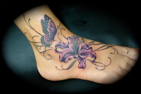 ankle tattoos 4