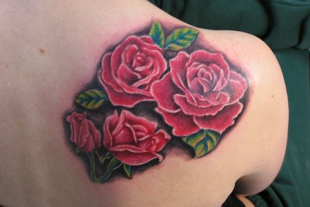 red rose tattoo images 6