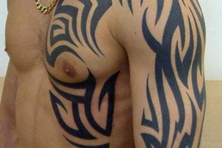 shoulder tribal tattoos design